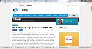 blog sanità e malasanità articoli
