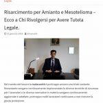 AMIANTO MESOTELIOMA FERROVIE DELLO STATO