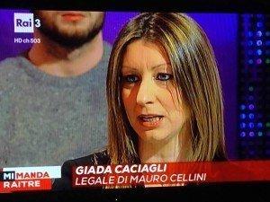 avvocato Giada Caciagli risarcimento salute Tv malasanità
