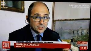 AVVOCATO SCACCABAROZZI SU RAI 1 IN TV