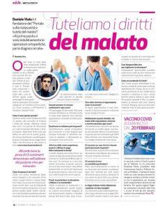 intervista tutela del malato mi tomorrow Daniele Viola